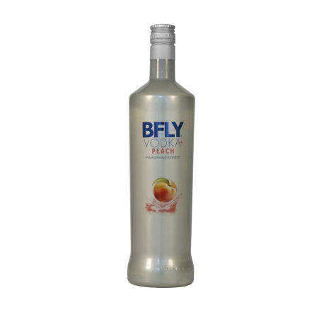 BFLY VODKA & PEACH 1 L
