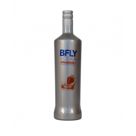BFLY VODKA & STRAWBERRY 1 L
