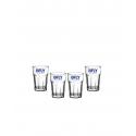 Bicchiere Granity Vetro BFLY x 6pz